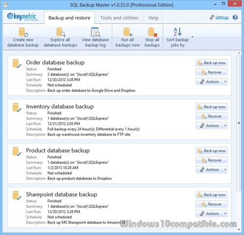 SQL Backup Master 1 0 77 0 Free download